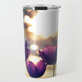 Sunrise Blooms Travel Mug
