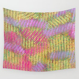 pastel waves Wall Tapestry
