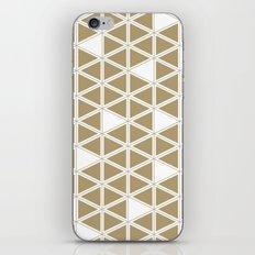 Tan Triangles iPhone & iPod Skin