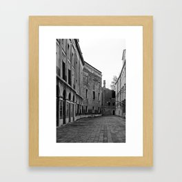 sironian venice Framed Art Print