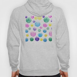 cheerful colorful bubbles Hoody