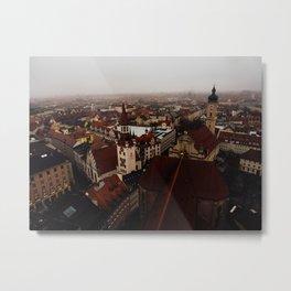 Munich cityscape Metal Print