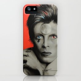 'Bolt of Bowie' iPhone Case