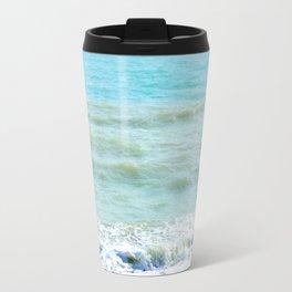 frothy surf (thank you, moon) Travel Mug