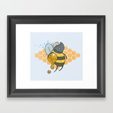 Bee Thief Framed Art Print