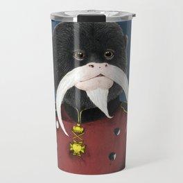 Emperor Tamarin Travel Mug