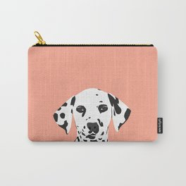 Casey - Dalmation art print phone case decor for pet lover and dog lover Carry-All Pouch