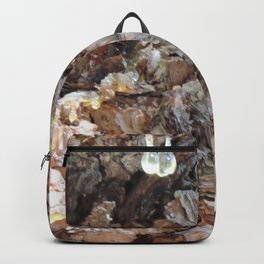 TEXTURES: Weeping Big Cone Pine Bark Backpack