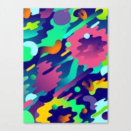 Splash Pattern Canvas Print