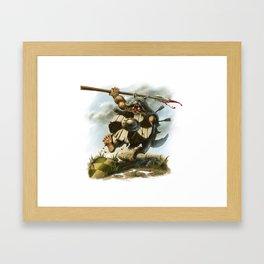 Viking Berserker Framed Art Print