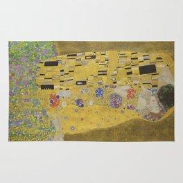 The Kiss - Gustav Klimt Rug
