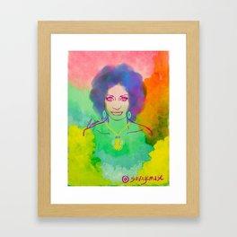 CELIA CRUZ Framed Art Print