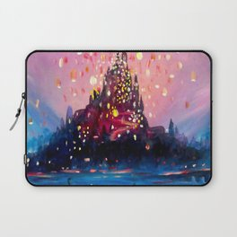 I see the lights Laptop Sleeve