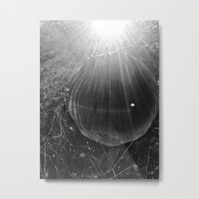 Piped Light Metal Print