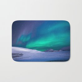 Aurora Borealis 1 Bath Mat