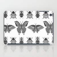 insects iPad Cases featuring insects by Textile Candy