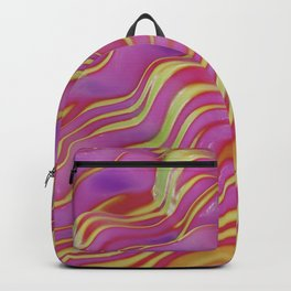 go easy on the purple Backpack