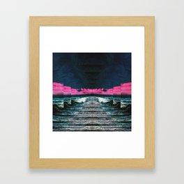 Mouth Of The Ocean Framed Art Print