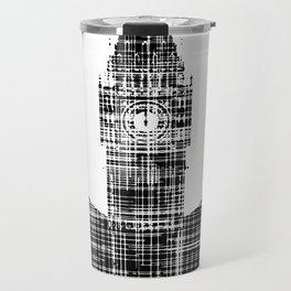Big Ben Grunge Background Travel Mug