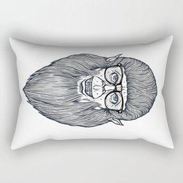 Nerdy Teen Wolf Rectangular Pillow