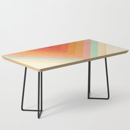 Rainbow Chevrons Coffee Table