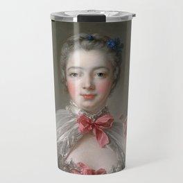 """François Boucher """"Madame de Pompadour at her Toilette"""" Travel Mug"""