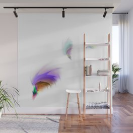 Dream fantasy feathers Wall Mural