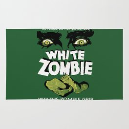 White Zombie Rug