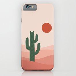 Cat Landscape 84: Cat-tus iPhone Case
