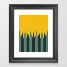 Wild Travels Framed Art Print