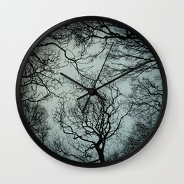 Lift Me Up To Winter Skies Wall Clock