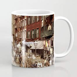 Mulberry Street NYC 1900 Coffee Mug