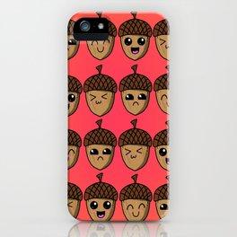 Adorable Acorns iPhone Case