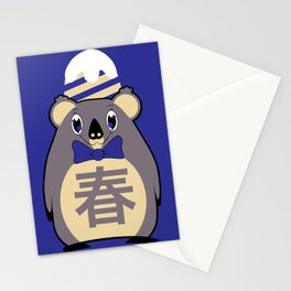 Haru - Season bear Spring Stationery Cards
