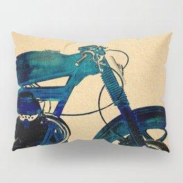 Metalic Blue Pillow Sham