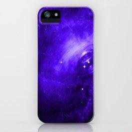 Crab Nebula Ultraviolet iPhone Case