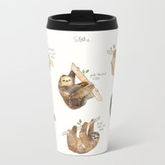 Sloths Metal Travel Mug