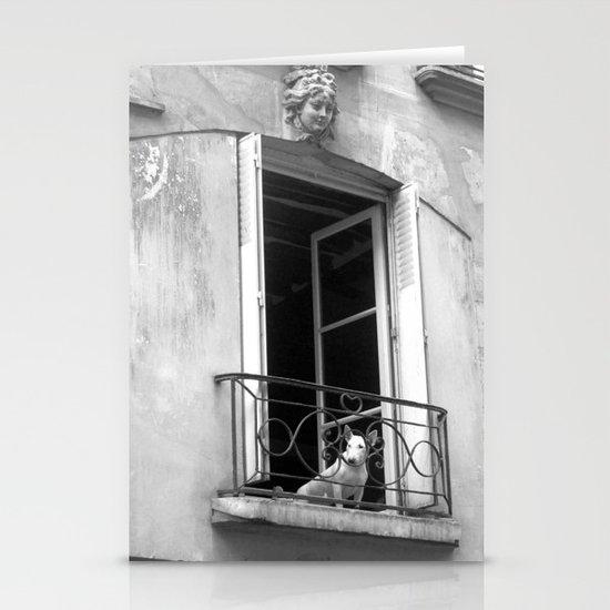 "Rue de la Verriere (Paris) ""GEOROMANTIC"" series Stationery Cards"