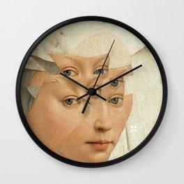 van Weyden und das Laster Wall Clock