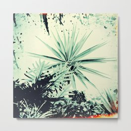 Abstract Urban Garden Metal Print