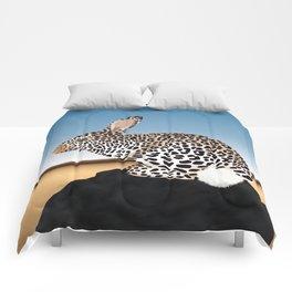 Rabbit Guepard Pattern Comforters