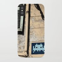 invader zim iPhone & iPod Cases featuring Invader by theGalary