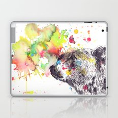Portrait Of a Grizzly Brown Bear Laptop & iPad Skin