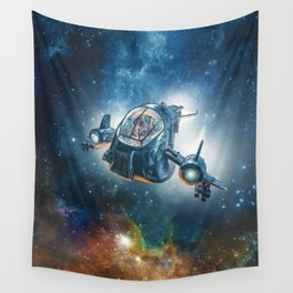The Scout Ship Wall Tapestry