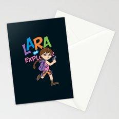 Lara the Explorer Stationery Cards