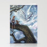once upon a  time Stationery Cards featuring Once Upon A Time by muratturan