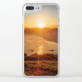 Lost in the Sunlight Clear iPhone Case