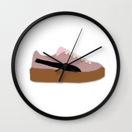 Puma Fente Creeper Rihanna Pink Wall Clock