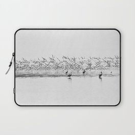 Flock of Terns and Pelicans in the Florida Bay Laptop Sleeve