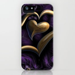 Abstract Love iPhone Case